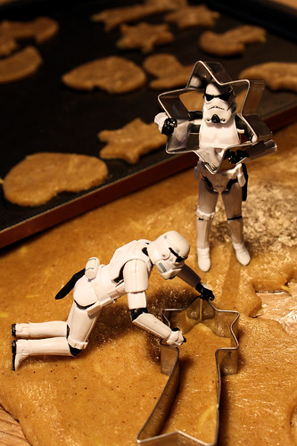 Make (star)cookies, not (star)wars