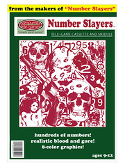 Number Slayers (Curtis Gregory Perry) Tags: video game compumex telegames atari coleco intellivision cartridge box 8 color graphics number slayers automóvil coche carro vehículo مركبة veículo fahrzeug automobil