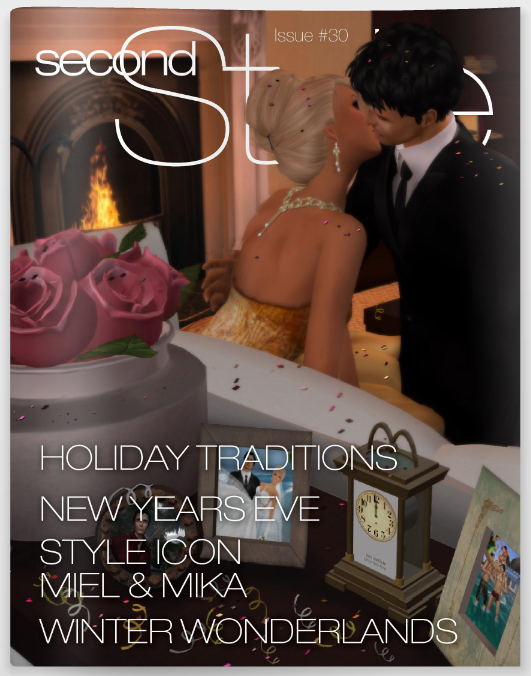 Second Style Magazine's December Cover