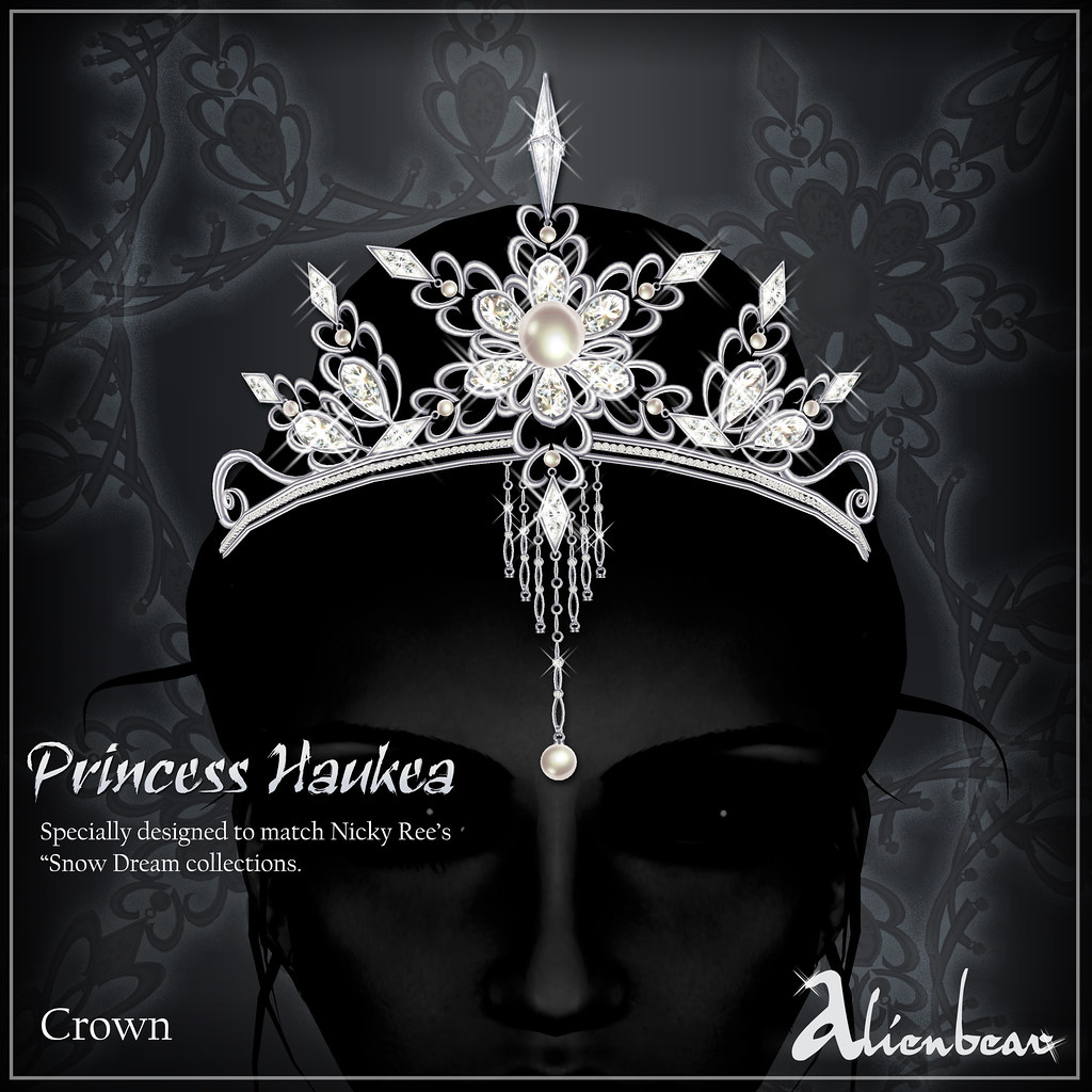 Princess Haukea crown white