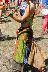 Hula girl (lburton_28) Tags: people girl festival colorado fortcollins skirt tourdefat huluhoop