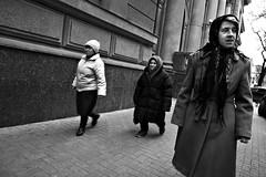 Three (John Roshka) Tags: street old lady 10d chisinau moldova