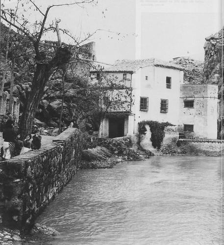Casa del diamantista a principios del siglo XX. Foto Rodríguez