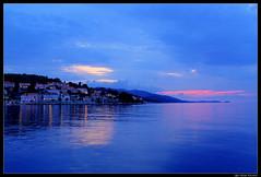 blue hour at Korcula (Qba from Poland) Tags: city light sunset sea summer water island mediterranean raw croatia bluehour korcula hdr adriatic qba hrvatska dalmatia 3xp platinumheartaward qbafrompoland