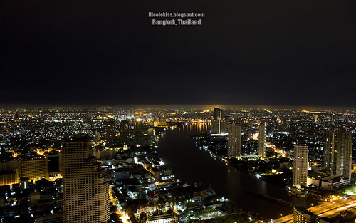 Bangkok Night Scene 2 wallpaper_wide