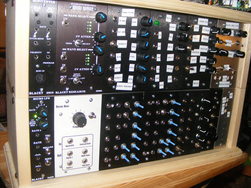 Completed Modular Synth