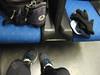 in treno dopo il giro