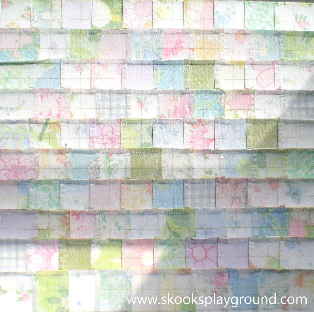 Quilter's Grid Block - Back Detail