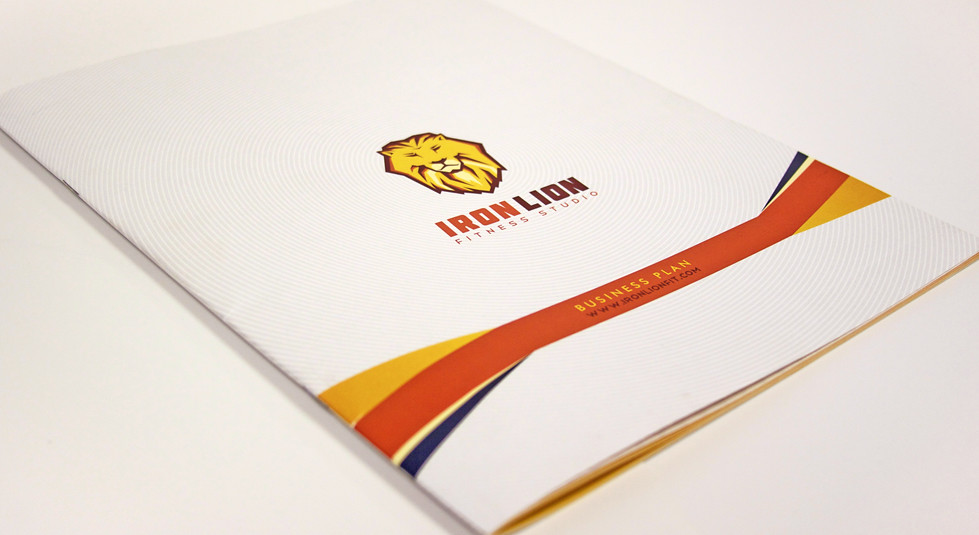 Iron Lion business plan cover