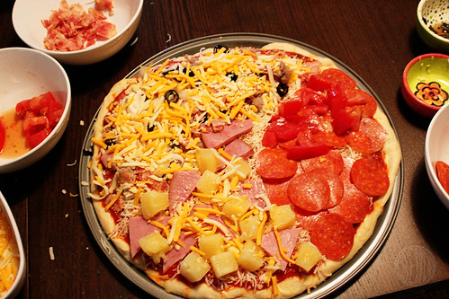 toppings galore