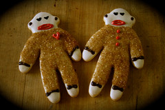 Sock Monkey Couple