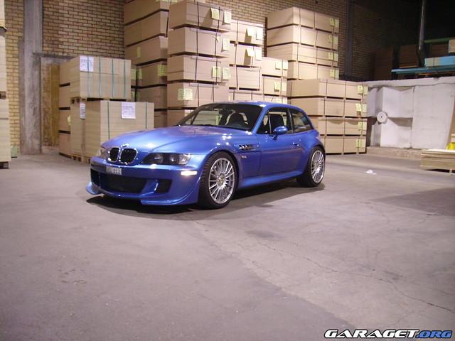 1999 M Coupe | Estoril Blue | Estoril Blue | MH GTR Bumper
