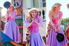Rapunzel (abelle2) Tags: princess disney parade disneyworld wdw waltdisneyworld rapunzel magickingdom tangled disneyprincess disneyparade princessrapunzel festivaloffantasyparade festivaloffantasy
