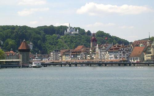 Lucerne from Ship por roger4336.