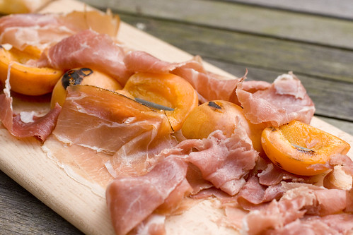 Proscuitto and Grilled Apricots 2