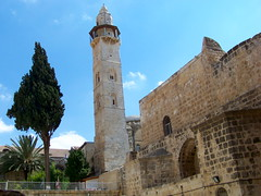 Holy Sepulchre tower (jglsongs) Tags: church israel shrine christ jerusalem jesus  churchoftheholysepulchre  oldcity crucifixion golgotha jesuschrist calvary yerushalayim sepulchre    christianquarter  surpharutyun   sanctumsepulchrum