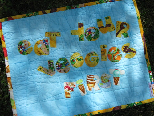 Placemat back...