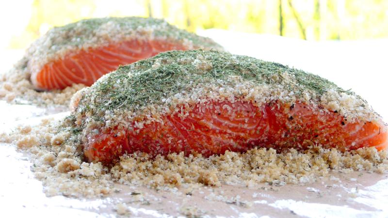 six course dinner: Gravlax = Heaven