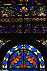 Orosi (kavan.) Tags: blue red orange color green history window glass yellow museum canon design ancient iran sigma historical iranian 1770 kurdistan orosi sanandaj kavan kordestan 400d