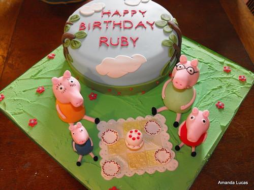 Birthday Cake Helicopter Bobby