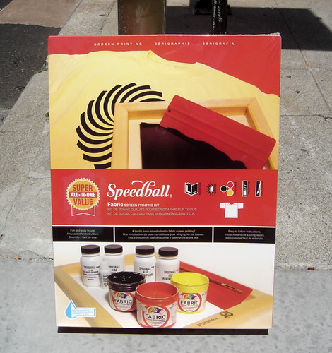 Speedball Screen Print Kits!!!