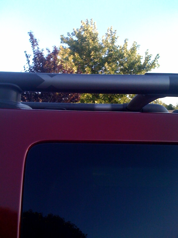 Paint The Roof Rack Second Generation Nissan Xterra