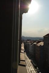 Blick aus unserem Hotelzimmerfenster