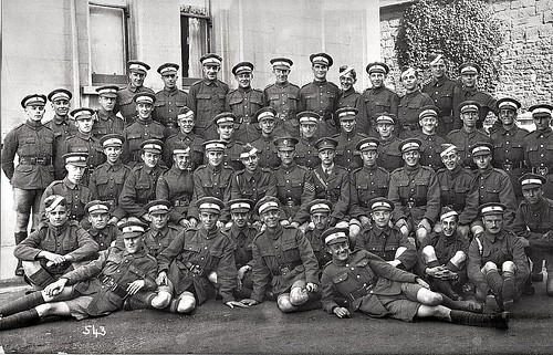 RFC Cadets June or July 1918 Hastings
