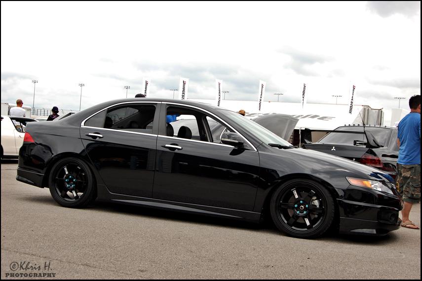 Do Black Wheels On A Black Car Too Much Black Page Honda - Acura tsx black rims