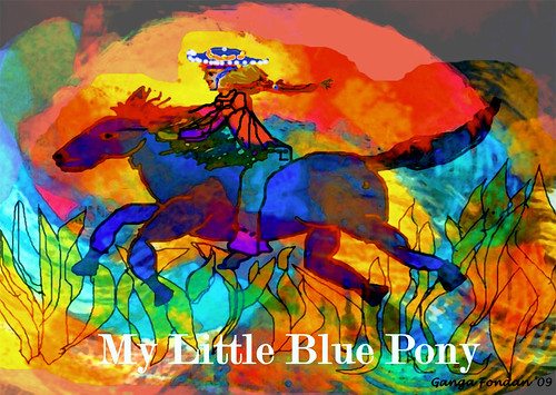 The Legend of the Little Blue Pony