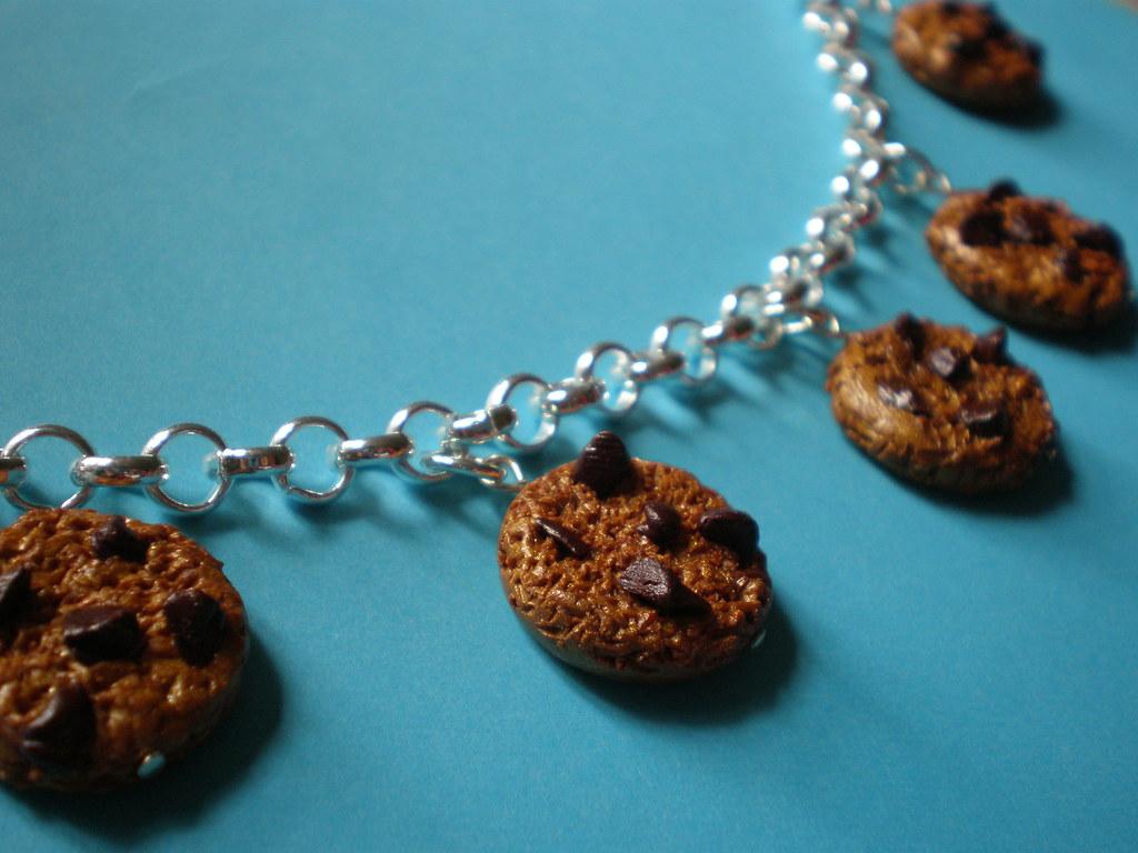 Choco Chip Cookies Charm Bracelet
