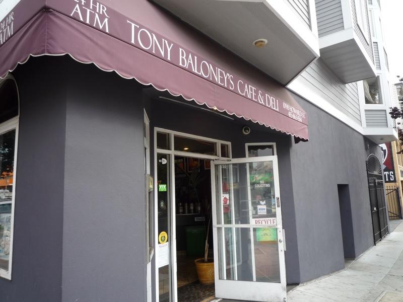 Tony Baloney's Deli-San Francisco