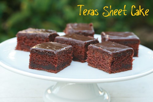 Texas Sheet Cake - Food Librarian