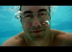 P1000870c (UbiMaXx) Tags: portrait pool face swimming self happy lumix interesting underwater scuba diving panasonic sp snorkling bubble roussillon languedoc maxx languedocroussillon ts1 ft1 twitter ubimaxx panasonicdmcft1 panasonicdmcts1