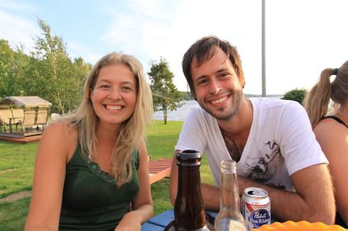 Kélie and Matt...