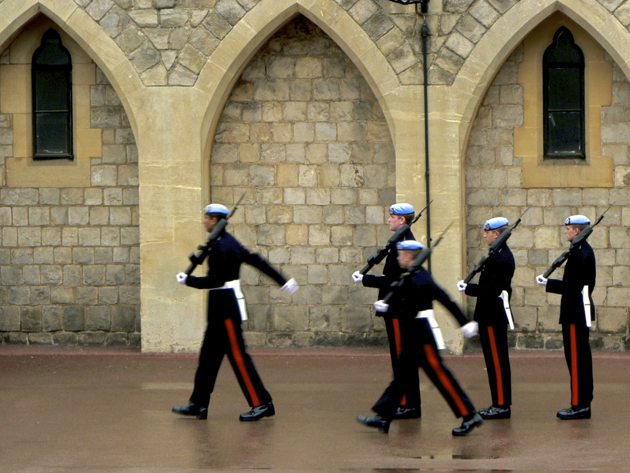 Boys in Uniform at Windsor