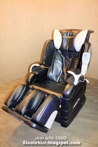 ogawa fujiiryoki luxurious massage chair