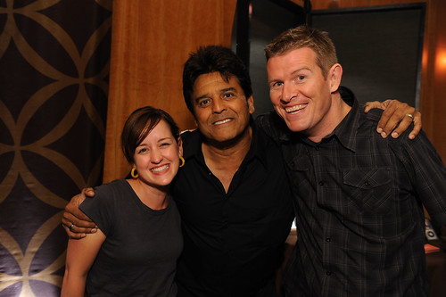 Currey and Dave with Eric Estrada by: WireImage.com