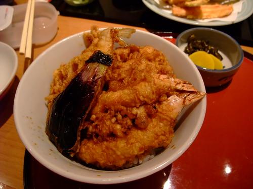 銀座天國 - A 丼