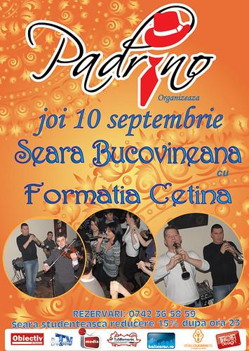 10 Septembrie 2009 » Seară bucovineană cu Cetina