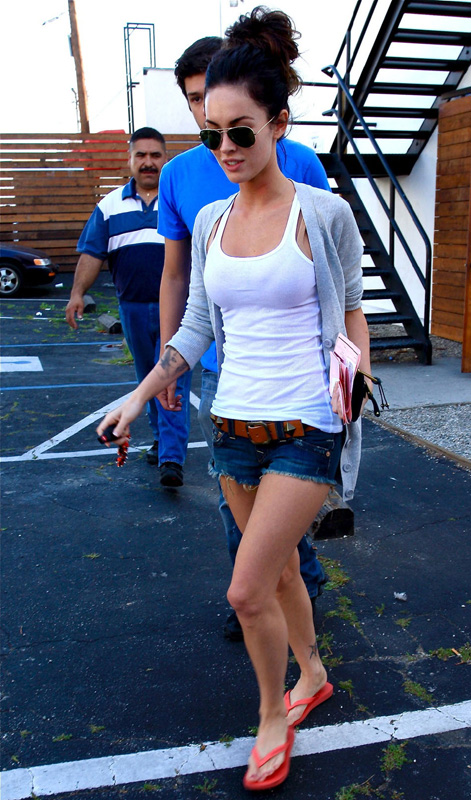 Megan Fox ropa de casa