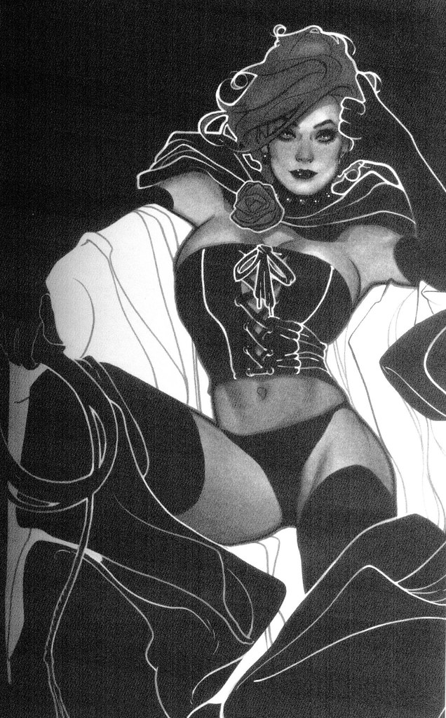 Black Queen (Adam Hughes, sketchbook 2009)