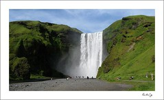 Skgafoss (Kristin Sig) Tags: waterfall iceland icelandic skgafoss suurland