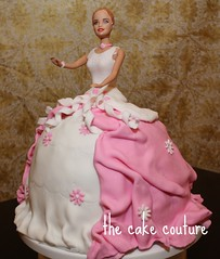 30. Barbie Cake (The Cake Couture (is currently not taking any orde) Tags: cake doll princess barbie  chocolatecake doha qatar                          thecakecouture