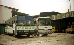 Farinas Transport Co Daewoo BV113 EL AVD-113 (fleet No 27 and Hino RF821 AVD-245 (fleet No 47) in terminal at Laan and M de la Fuente Streets, Sampaloc, Manila, Philippines. (express000) Tags: bus philippines manila daewoo hino farinas sampalocmanila philippinesbuses hinobus busesinthephilippines daewoobus philippinebuses sampalocmanilaphilippines daewoobv113el hinorf821 farinastransportco