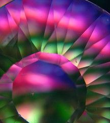 Tesla Arc (matt.forestpath (flash200)) Tags: pink abstract color macro green lines crystals purple bright geometry circles curves shapes prisms unedited geometriegeometry
