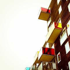 - wozoco - (FRJ photography) Tags: city holland color building netherlands amsterdam architecture contemporary balcony bas balcon paysbas pays bâtiment couleur ville immeuble mvrdv hollande contemporain wozoco