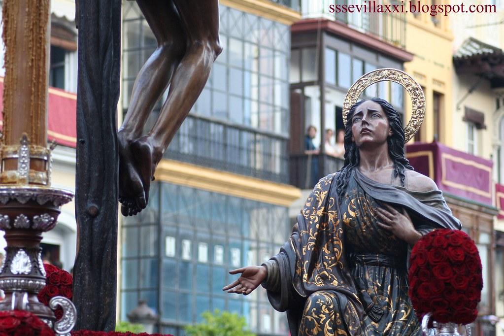Stmo Cristo de la Buena Muerte y Sta.María Magdalena. Hermandad de la Hiniesta.