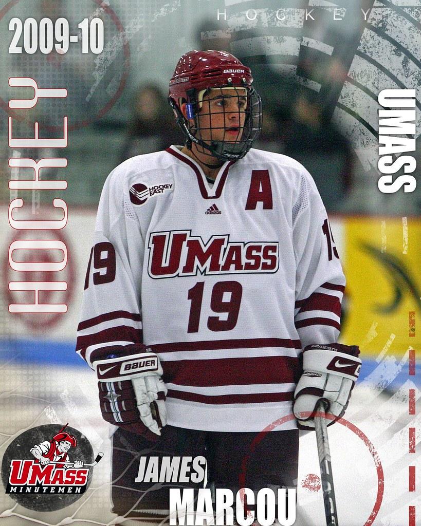 James Marcou Hockey East Player of week