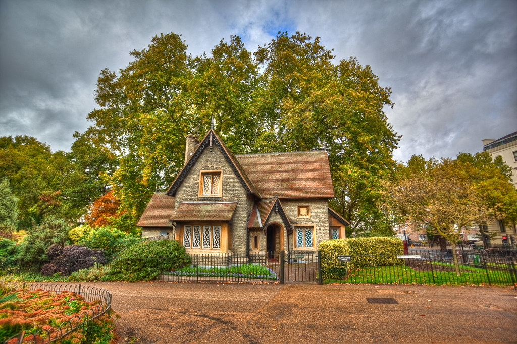 A Small House In Hyde Park London